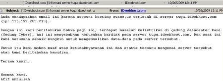 hosting murah webhosting idwebhost